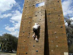 Beaufort Rock Wall Climbing