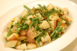 Warm Potato and Green Bean Salad