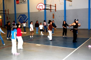 H3 teaches Zumba to the HHI Boys and Girls Club