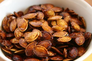 Thai candied pumpkin seeds