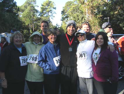 Hilton Head Health guests run 2010 Bridge Run