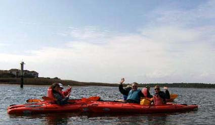 H3 Guests on a recent kayaking excursion