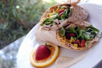 chipotle chicken wrap
