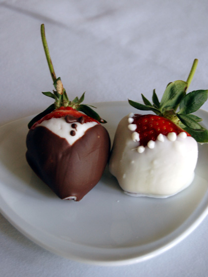 bonus healthy valentine's day recipe: chocolate covered, Ideas