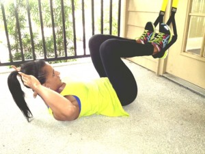Reverse crunch 300x225 Fitness Friday: TRX Suspension Training
