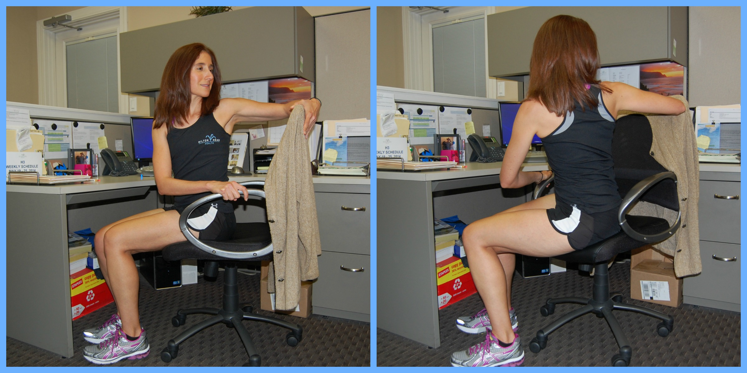 Office Fit 7 Exercises You Can Do At Your Desk H3 Daily