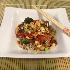 healthy vegetable stir fry recipe