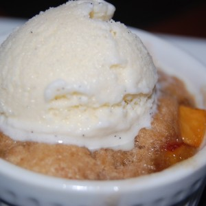 Hilton Head Health Cuisine: Peach Cobbler