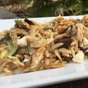 orzo pasta, roasted vegetables, roasted vegetable orzo